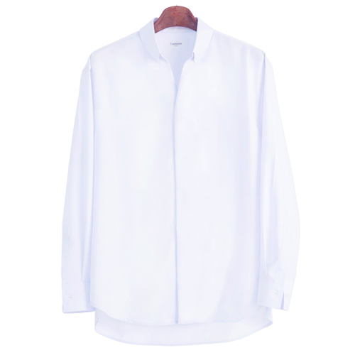 Lumiere None Stitch Shirt - White 3차리오더 완료