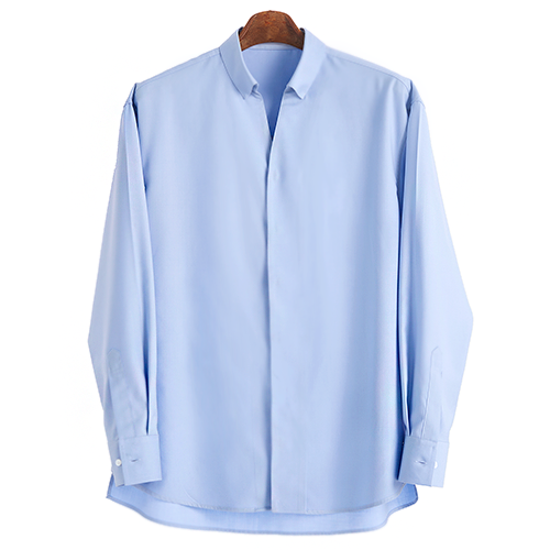 Lumiere None Stitch Shirt - Blue 3차리오더 완료